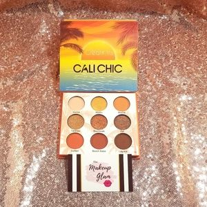 Cali Chic Eyeshadow Palette Makeup Beauty Creation